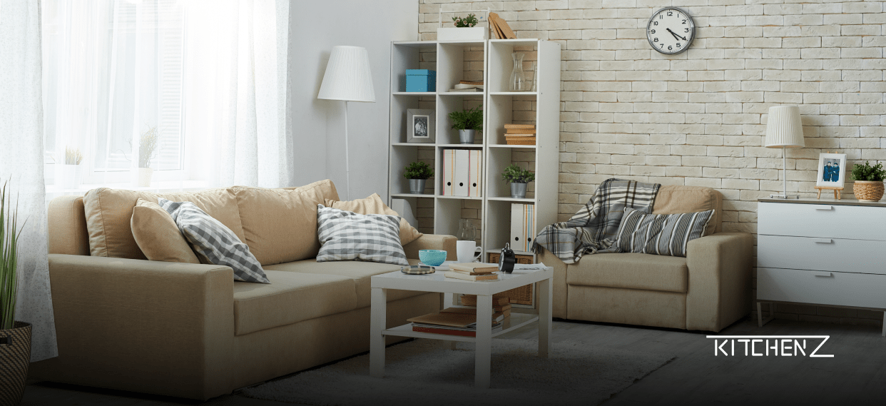 A collection of SPF Home Deco furniture that automatically updates on marketplaces through SelluSeller